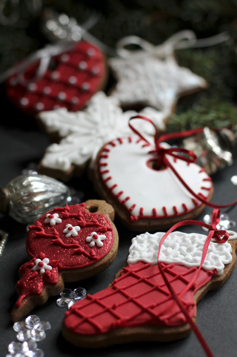 ноногоднее печенье на елку