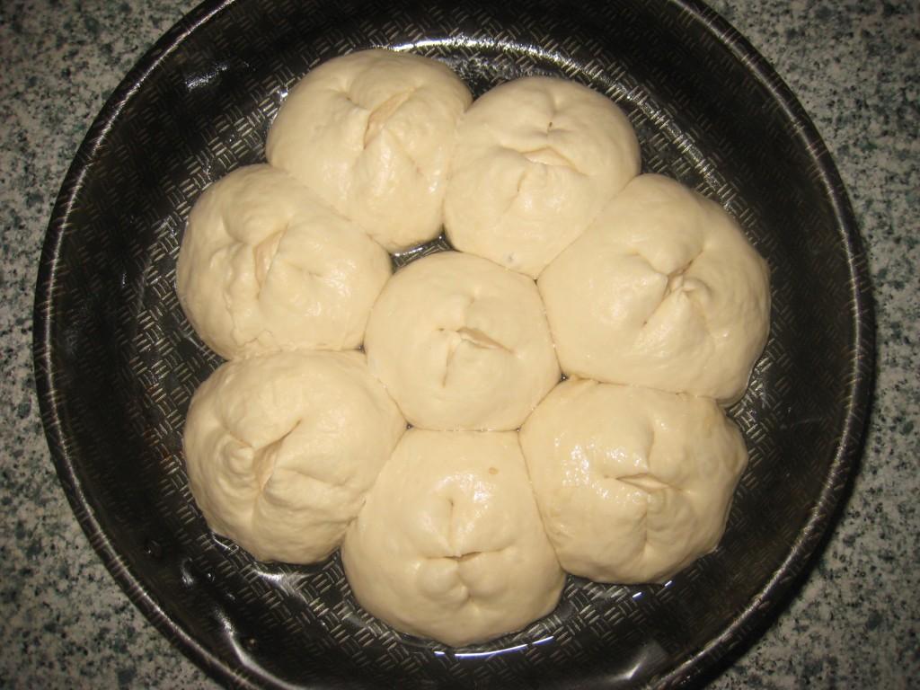 Пампушки с чесноком к борщу фото рецепт