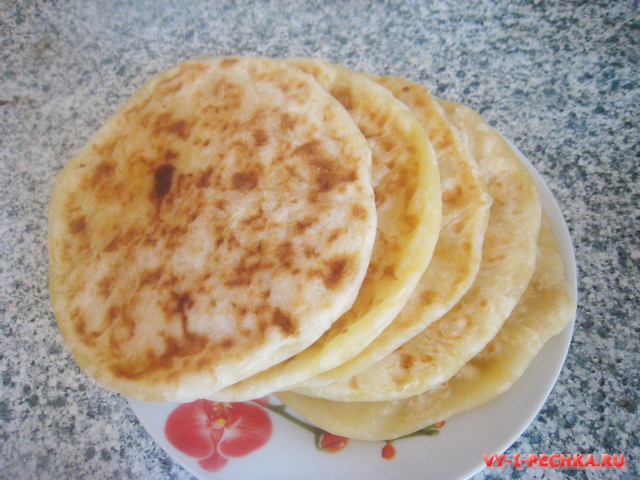 Хачапури с сыром фото рецепт