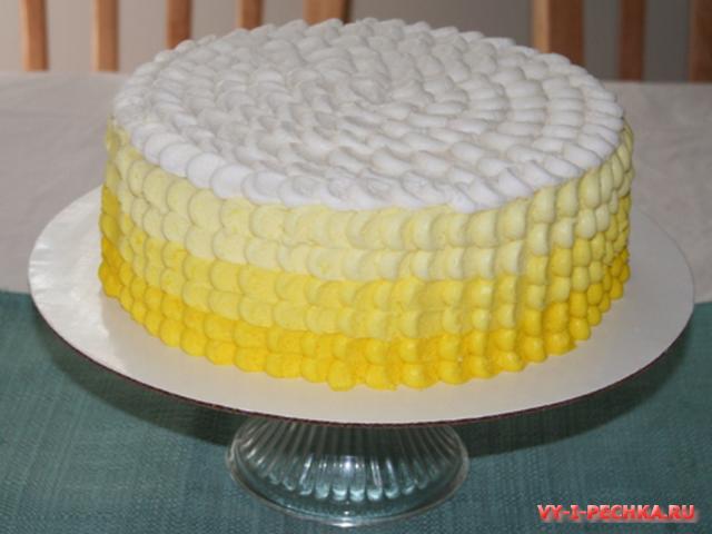 фото лимонного торта