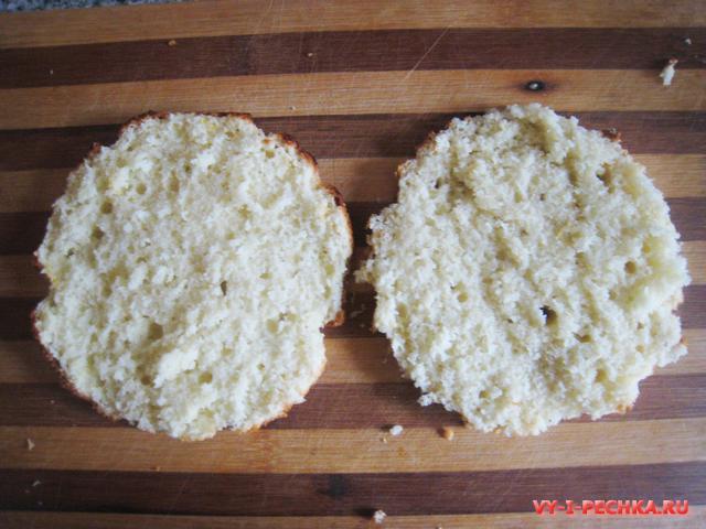 лимонные коржи для торта