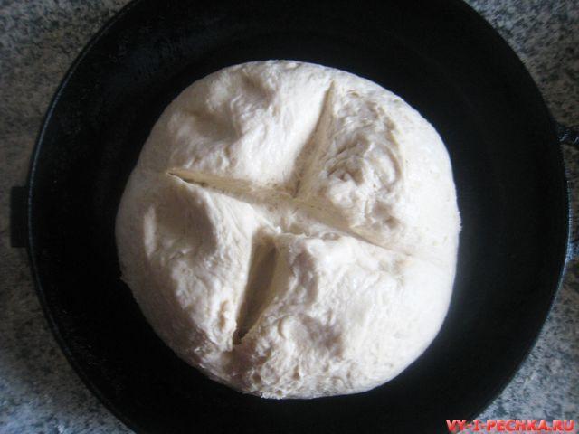 фото рецепт простого домашнего хлеба_8