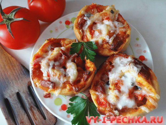 пицца-рулет фото рецепт