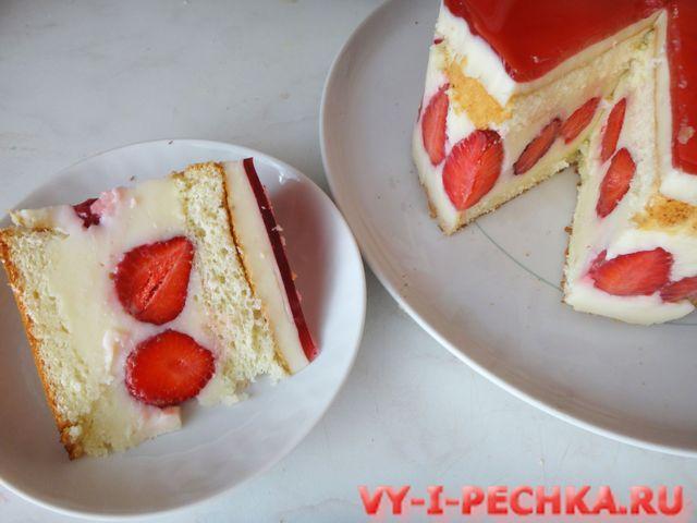 торт фрезье пошаговый фото урок