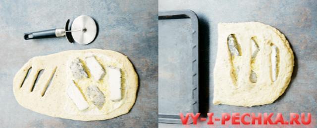 формовка фугаса с сыром