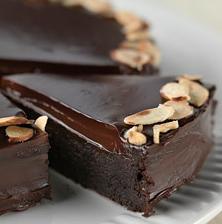 Шоколадный торт бех муки рецепт