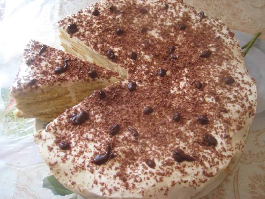 Домашний торт тирамису