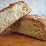 Простой рецепт безопарного домашнего хлеба