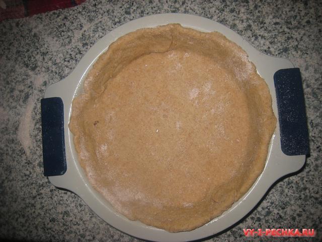 грибной пирог фото рецепт