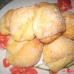 Творожное печенье (фото рецепт)