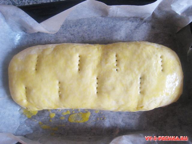 Картофельный рулет с грибами (фото рецепт)