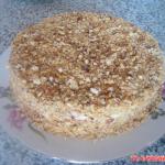 Торт «Медовик» со сметанным кремом пошаговый фото рецепт.
