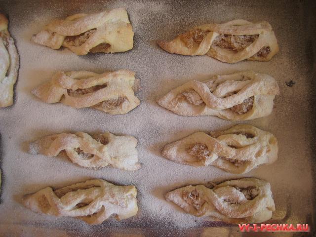 печенье с яблочной начинкой фото рецепт