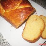 Итальянский пасхальный хлеб с сыром (фото рецепт)