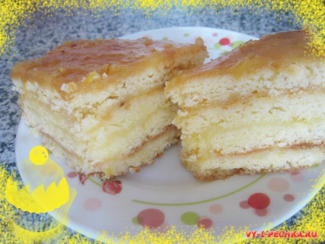 лимонный торт фото рецепт
