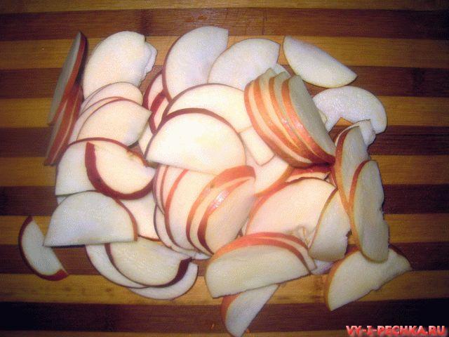 розы из яблок в слоеном тесте фото рецепт