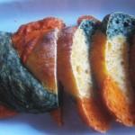 Трехцветный хлеб «Светофор» (фото рецепт)