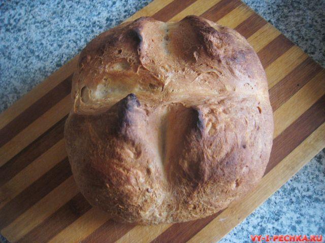 фото рецепт простого домашнего хлеба_9