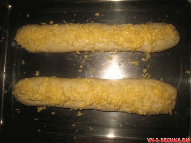 сырный багет фото рецепт