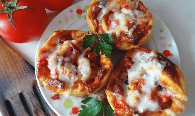 фото рецепт пиццы в виде рулета