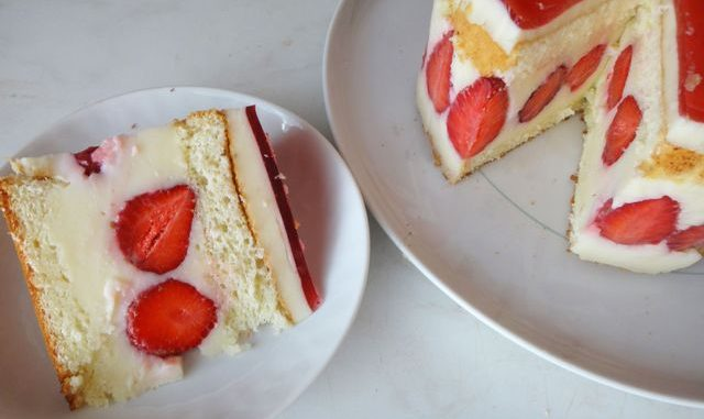 рецепт торта фрезье