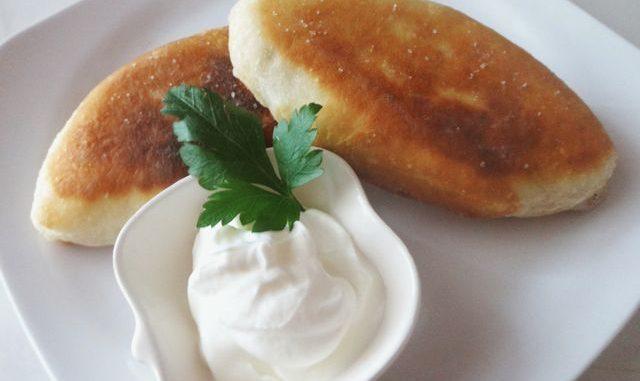 жареные пирожки с капустой фото рецепт