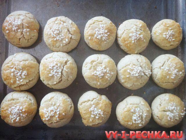 выпекаем печенье с тахиной