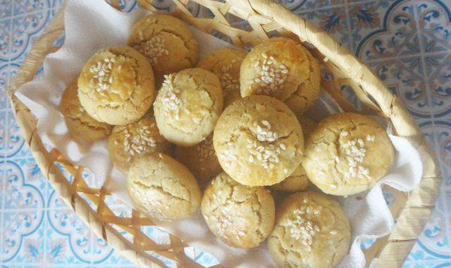 турецкое печенье с тахиной фото