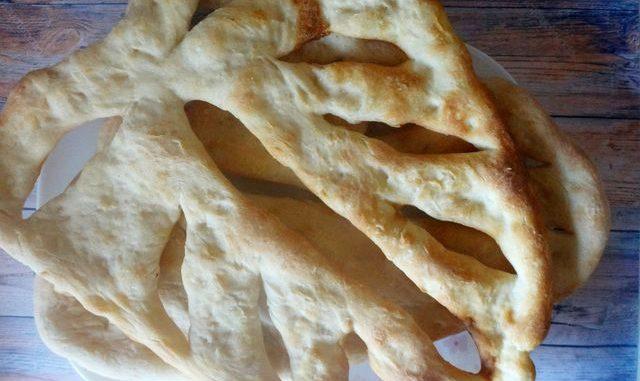 рецепт хлеба фугас